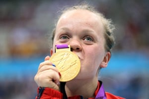 Gold medals: Eleanor Simmonds