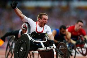 Gold medals: Mickey Bushell