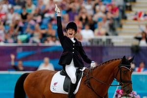 Gold medals: Sophie Christiansen on Janeiro 6