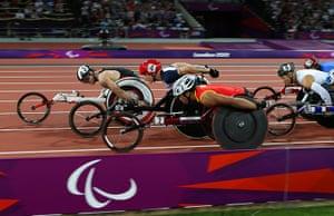 Gold medals: David Weir