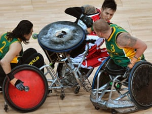 The Wheelchair Rugby final