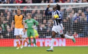 sport2: West Bromwich Albion v Fulham - Barclays Premier League