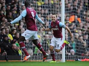 sport3: West Ham United v Norwich City - Barclays Premier League