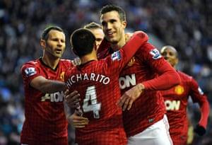 sport6: Wigan Athletic V Manchester United, Barclays Premier League