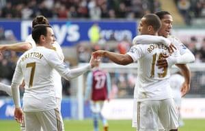 sport7: Swansea City v Aston Villa - Barclays Premier League
