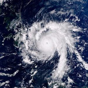 Satellie Eye on Earth: Typhoon Bopha