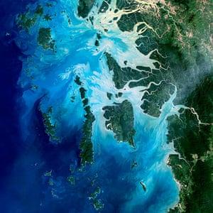 Satellie Eye on Earth: Mergui Archipelago