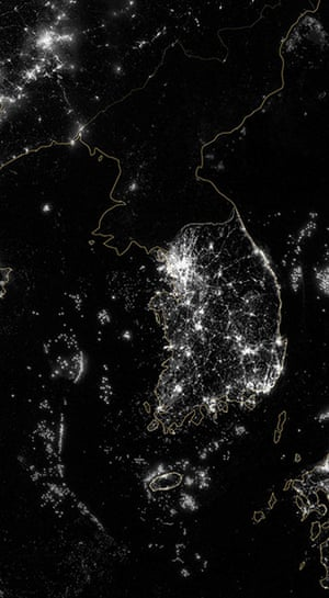 Satellie Eye on Earth: Korea and the Yellow Sea