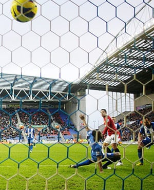 sport8: Wigan Athletic v Manchester United - Barclays Premier League