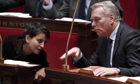 France's minister for women's rights Najat Vallaud-Belkacem, 2012