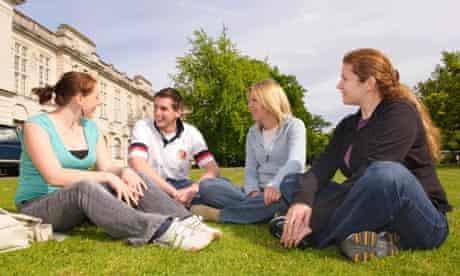 Cardiff University students