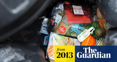 Food waste report shows UK families throw away 24 meals a