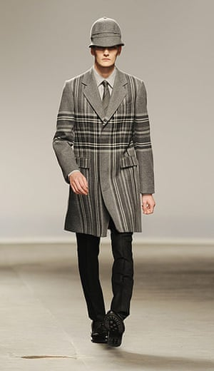 Menswear: E.Tautz: Catwalk - London Collections: MEN AW13