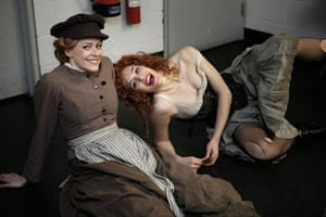 My Fair Lady: Carly Anderson and Victoria Hinde