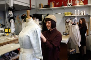 My Fair Lady: costumes are prepared