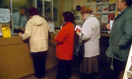 Post office queue
