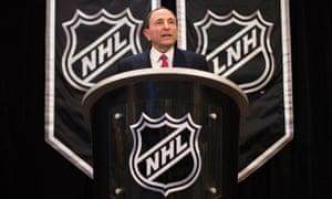 NHL专员Gary Bettman