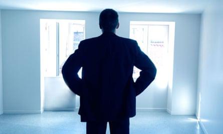 Man in an apartment