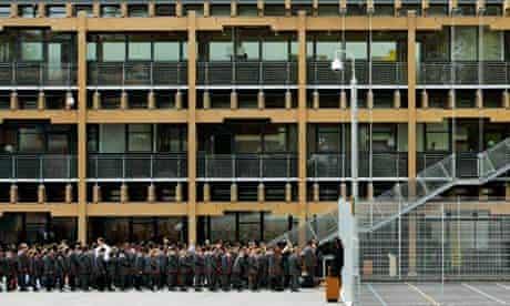 Mossbourne academy in Hackney, east London.