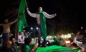 Libya - Gaddafi supporters