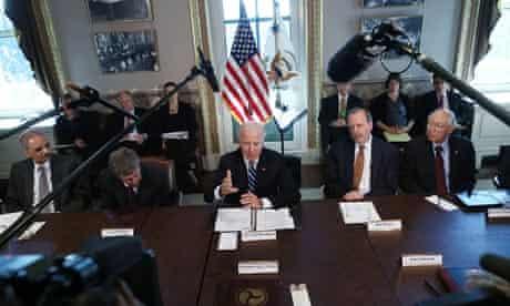 Joe Biden gun control taskforce