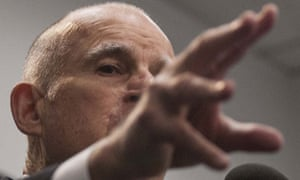 Governor Jerry Brown says California's prison crisis over