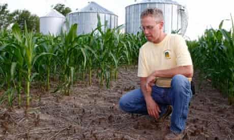 US Indiana drought