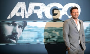 Ben Affleck posing during a photocall for his Oscar-nominated film Argo