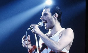 Queen in concert at Forest Nationale, Brussels, April 1982