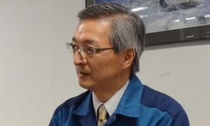 Atsufumi Yoshizawa, a member of the Fukushima 50