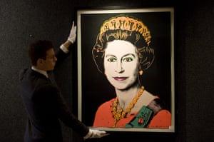 Royal portraits: Queen Elizabeth II, by Andy Warhol