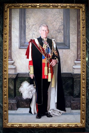 Royal portraits: A portrait by artist Richard Stone of Prince CharlesPrince