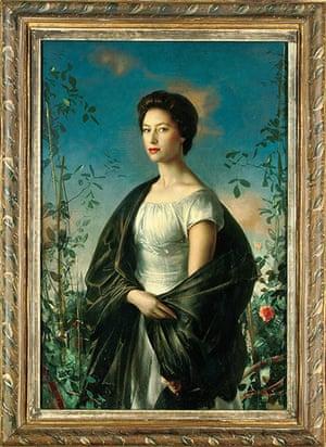 Royal portraits: 1957 portrait of Princess Margaret by Italian artist, Pietro Annigoni