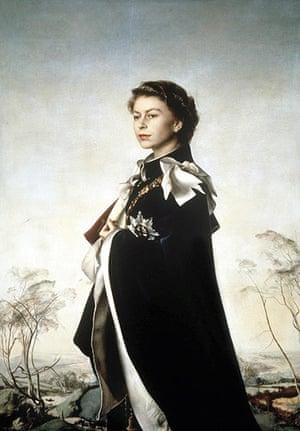 Royal portraits: Pietro Annigoni's portrait of Queen Elizabeth II from  1954-55