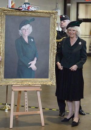 Royal portraits: Camilla, Duchess of Cornwall portrait