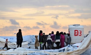Syrian refugees collect water in atrocious conditions at the Al-Zaatari refugee camp in Jordan.