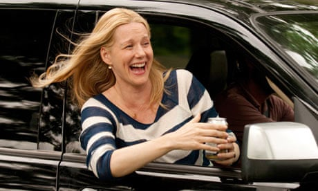 photo of Laura Linney  - car
