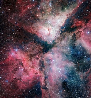 A Month in Space: The Carina Nebula imaged by the VLT Survey Telescope