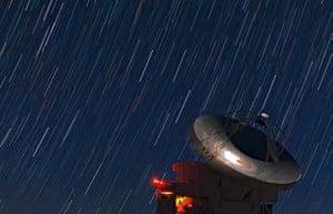 A Month in Space:  Atacama Pathfinder Experiment (APEX) telescope