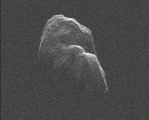 A Month in Space: asteroid Toutatis