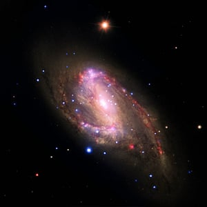 A Month in Space:  the spiral galaxy NGC 3627 located about 30 million light years from Earth