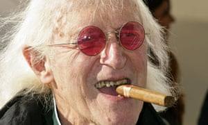 Jimmy Savile, entertainer, UK