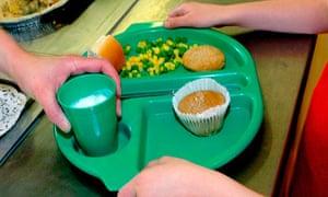 A school dinner