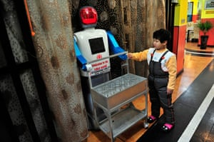 Robot Restaurant: a robot that specialises in delivering drinks to the tables