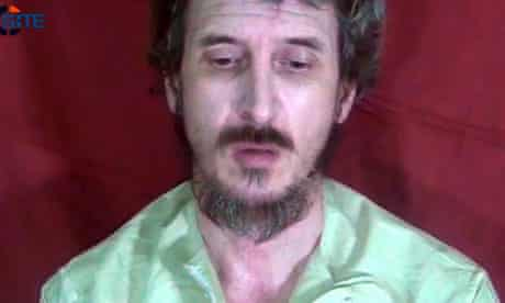 French secret service hostage 'Denis Allex' pictured in Somalia in October 2012