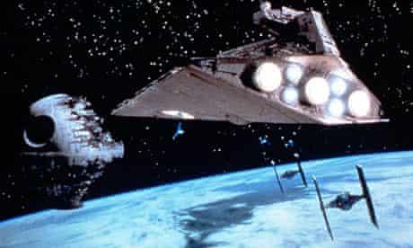 Death Star in The Return of the Jedi