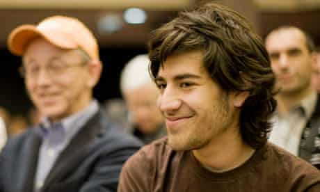 Aaron Swartz internet activist and developer of website Reddit