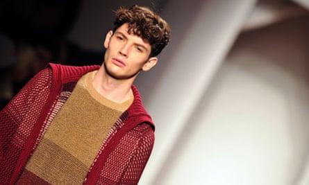 Missoni autumn-winter menswear collection