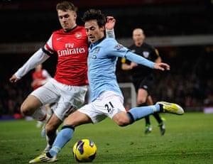 football: Arsenal v Man City
