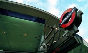 Jubilee Line station at Southwark